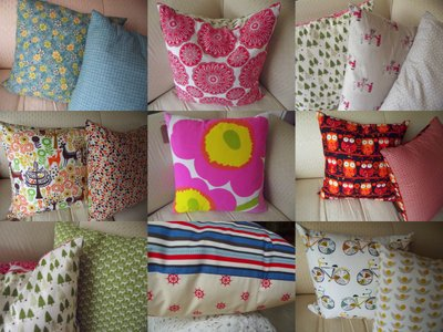 Cushions by Annukka Costello