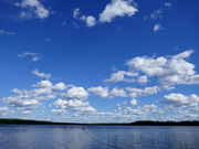 Finnish lake by Annukka Costello